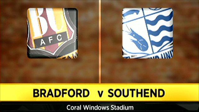 Bradford 0-2 Southend