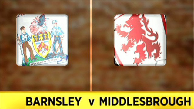 Barnsley 2-0 Middlesbrough