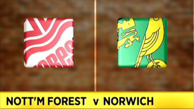 Nott'm Forest 1 - 1 Norwich