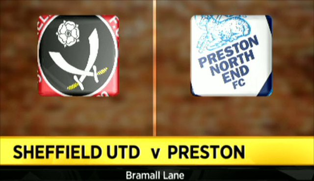 Sheffield United 1-0 Preston