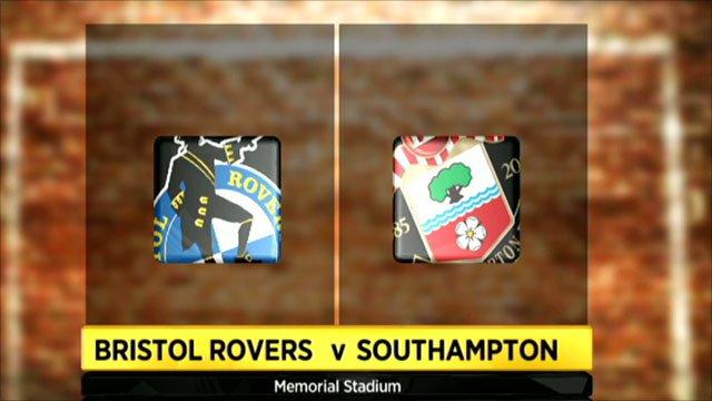 Bristol Rovers 0-4 Southampton