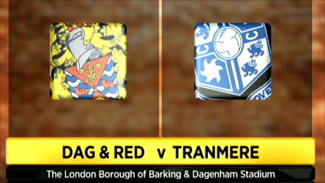 Dag & Red 2 - 2 Tranmere