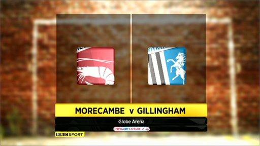 Morecambe 1-1 Gillingham
