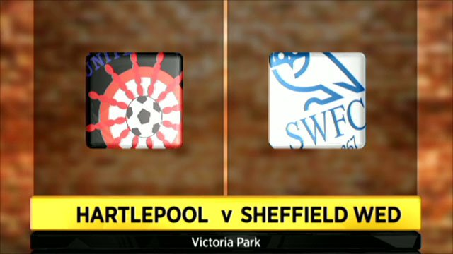 Hartlepool 0-5 Sheff Wed