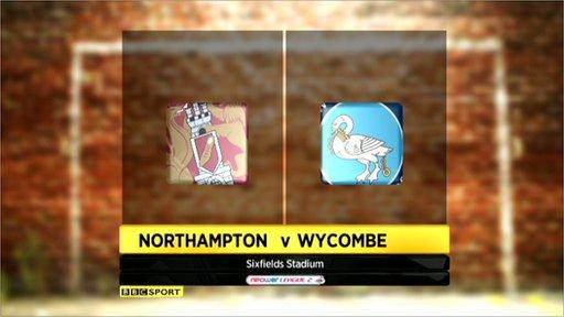Northampton 1-1 Wycombe