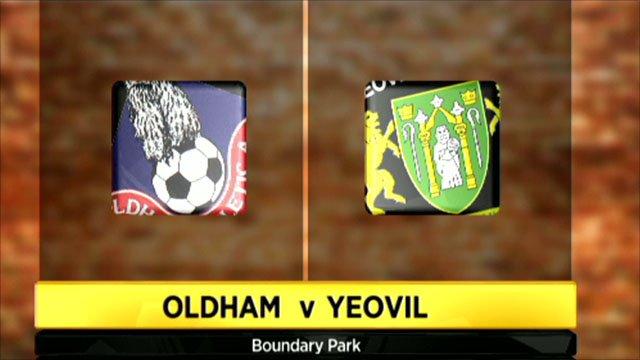Oldham 0-0 Yeovil