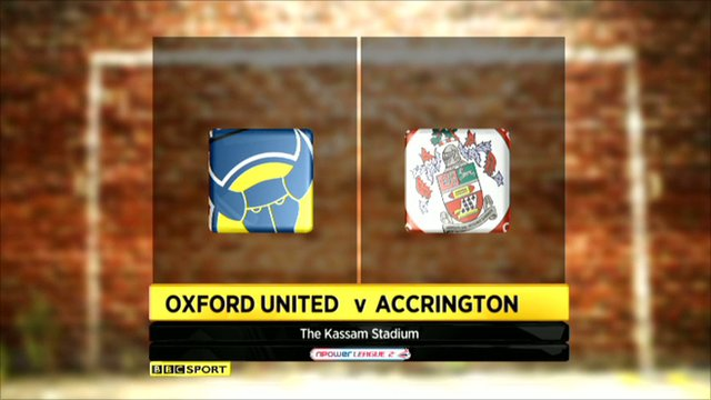 Oxford 0-0 Accrington