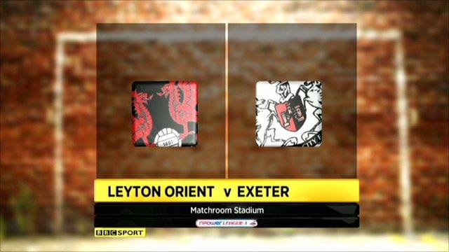 Leyton Orient 3-0 Exeter
