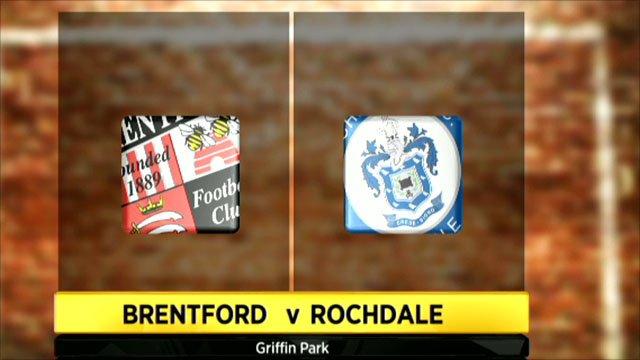 Brentford 1-3 Rochdale