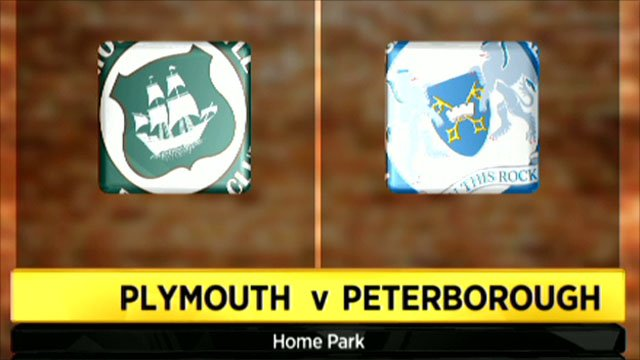 Plymouth 0-3 Peterborough