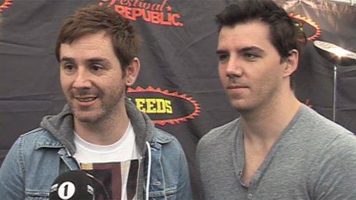 Mike Lewis and Stu Richardson from Lostprophets