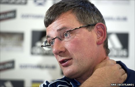 Scotland manager Craig Levein