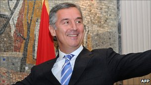 Milo Djukanovic, prime minister, Montenegro