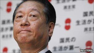 Ichiro Ozawa, in Tokyo on 31 August 2010