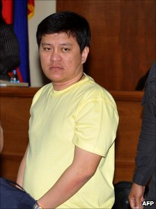 Andal Ampatuan Jnr in court on 28 July 2010
