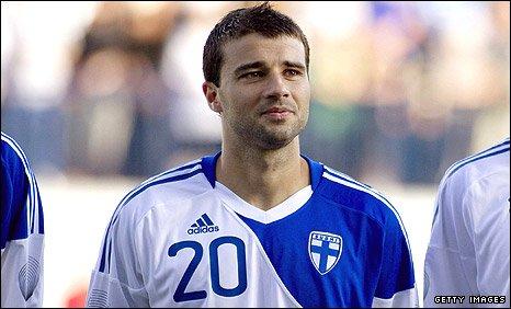 Finnish midfielder Alexei Eremenko