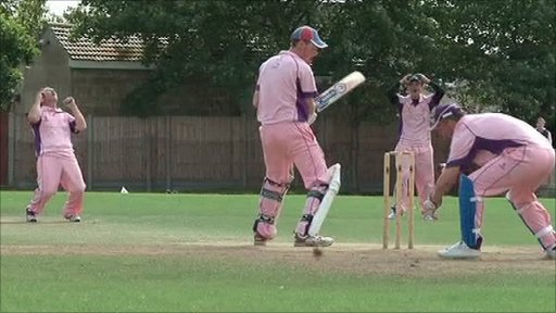 Blunham Cricket Club setting world record
