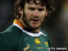 South Africa's Danie Rossouw