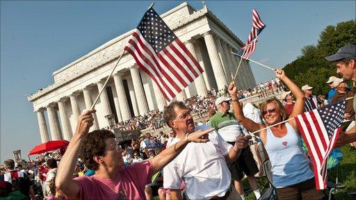 """Restoring Honor"" rally attendees"