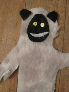 E-Ark puppet (Image: Matt Prescott)