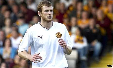 Motherwell defender Mark Reynolds