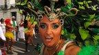 Carnival dancer. Photo: Yousuf Jafor