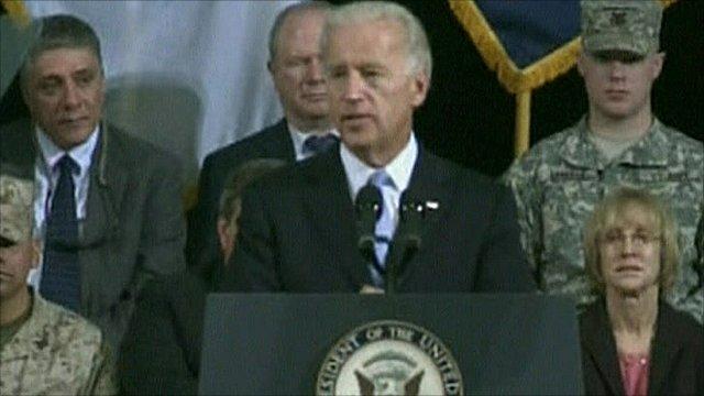 Joe Biden in Baghdad
