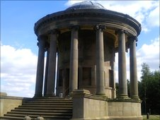Rotunda at Wentworth Castle