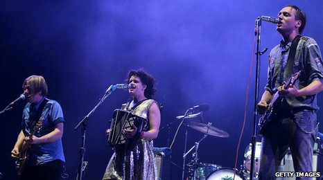 Arcade Fire at Reading