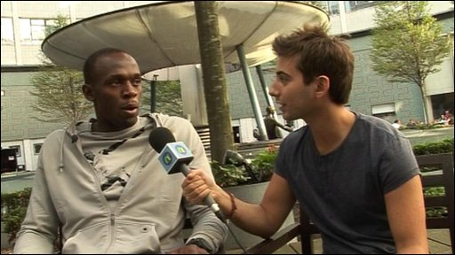 Usain Bolt answers Ricky's questions