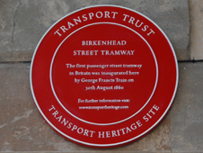 A Red Wheel plaque