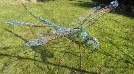 Fiona Campbell sculpture