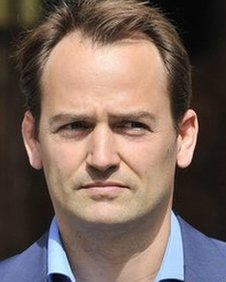 Ben Collins outside the High Court