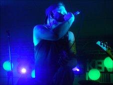 Martin Care lead singer of Blind Ambition