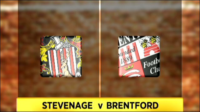 Stevenage 0-1 Brentford
