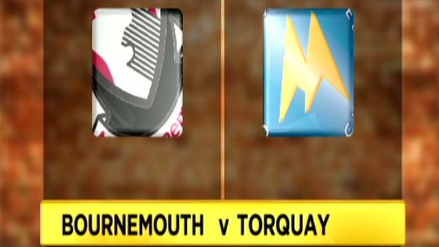 Bournemouth 0-0 Torquay (0-3 penalties)