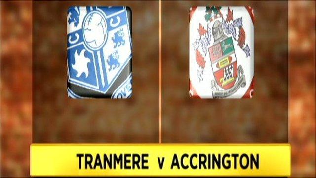 Tranmere 1-1 Accrington Stanley (3-5 pens)