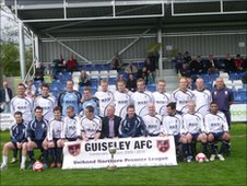 Guiseley team line-up