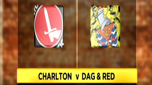 Charlton 1-0 Dag & Red