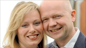 Ffion and William Hague