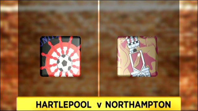 Hartlepool 4-0 Northampton