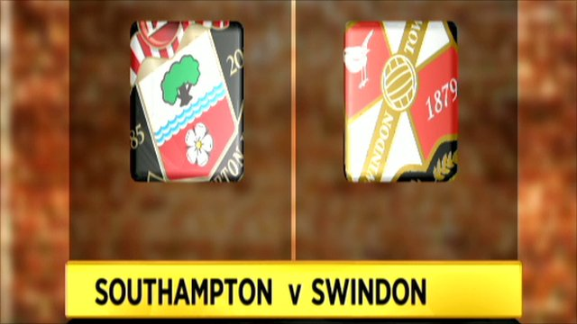 Southampton 0-3 Swindon