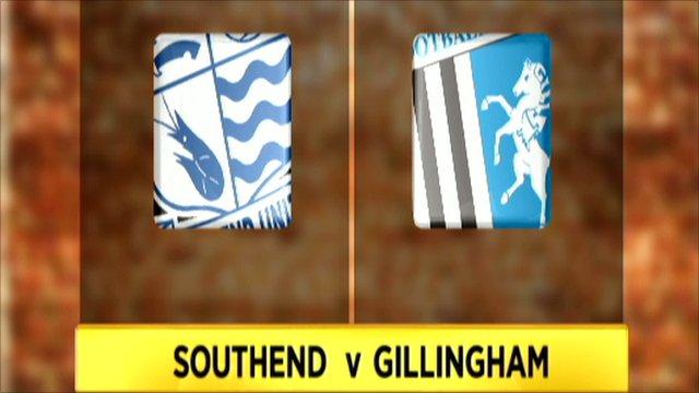 Southend 0-0 Gillingham (4-3 pens)