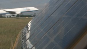 Southampton airport gets solar-powered runway lights