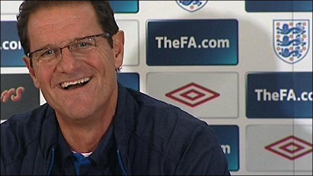 Capello unfazed by England pressure