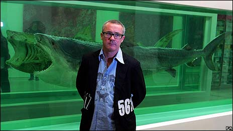 Damien Hirst, pictured in 2007
