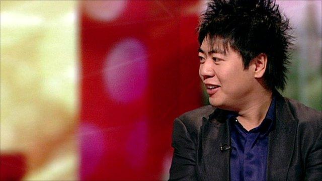 Classical musician Lang Lang