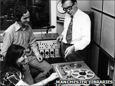 BBC Radio Manchester in 1970 (c) Manchester Libraries