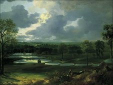 Holywells Park by Thomas Gainsborough