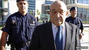 Former Portuguese ambassador Jorge Ritto at Lisbon's court